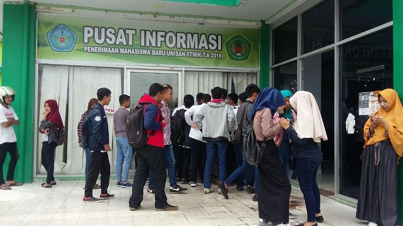 """Penerimaan Maba Gelombang II  """"Camaba Antusias Daftar di Unisan"""""""